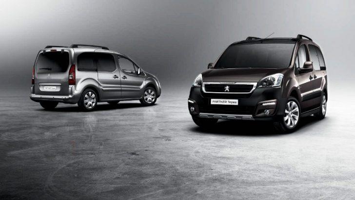 Yeni Peugeot Partner Tepee ve Partner Van