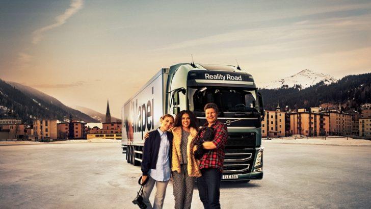 Volvo Trucks reality şov çekiyor: Sanatçı Mapei yollardaki hayatı  deneyimliyor
