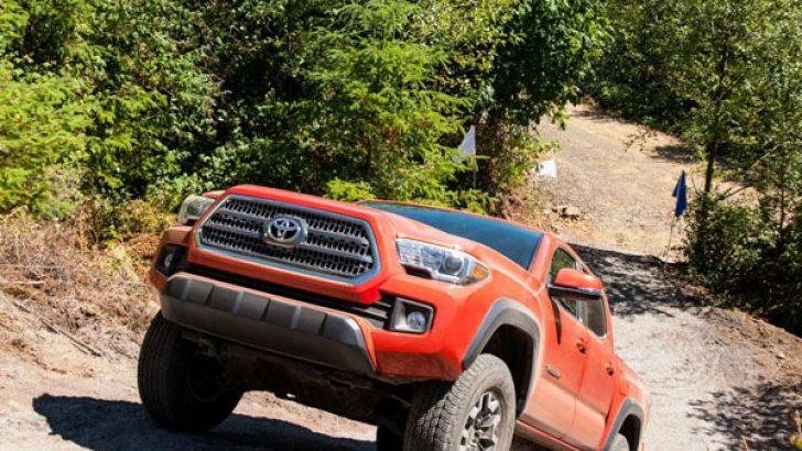 Toyota 2016 Tacoma TRD'nin tercihi, Goodyear Wrangler Lastikleri!