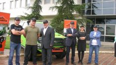 Transanatolia Ralli Raid 2015'te  Kupaları Toplayan Isuzu D-Max  Ekibine Kutlama Töreni