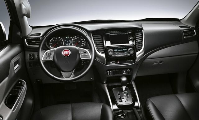 Fiat Fullback Kokpit