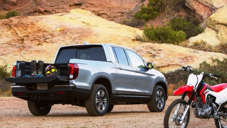 HONDA YENİ PICK-UP MODELİNİ SUNDU