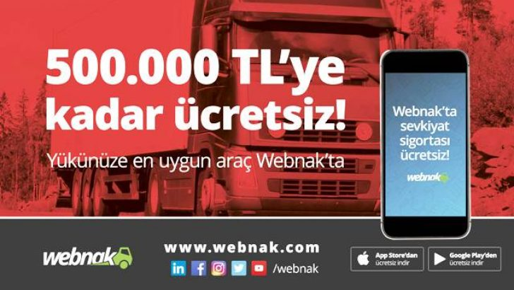 LOJİSTİK WEBNAK'LA CEBE GİRDİ