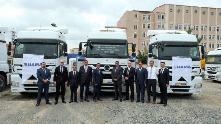 Mercedes-Benz Türk'ten 206 araçlık teslimat