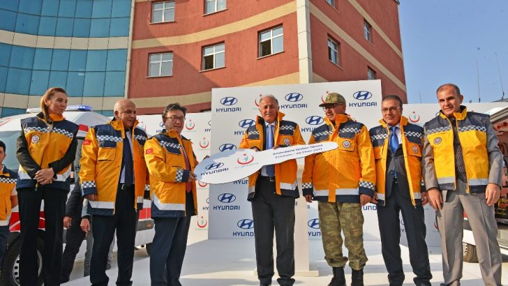 HYUNDAI ASSAN'DAN ERZURUM'A İKİ AMBULANS