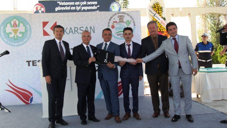 KARSAN'DAN SALİHLİ'YE 43 ADET JEST