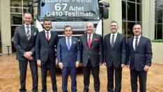 Scania'dan Yılın İlk Büyük Filo Teslimatı