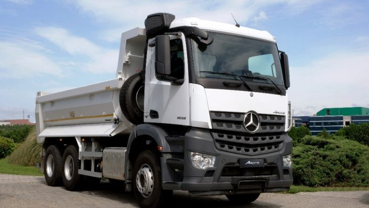 Mercedes-Benz Arocs 2532 K 6×2 Türkiye'de