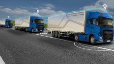 Yükler otonom konvoy ile taşınacak