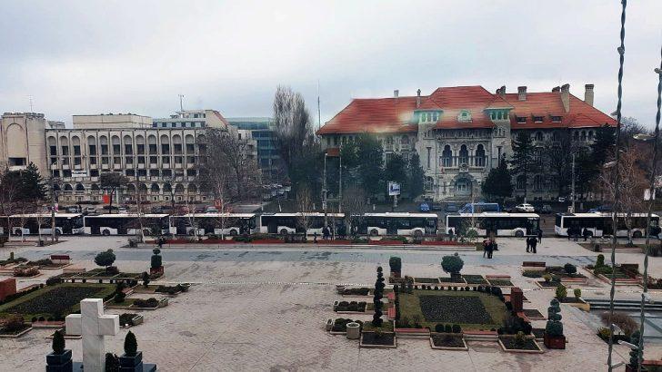 Romanya'ya 10 Anadolu Isuzu otobüs