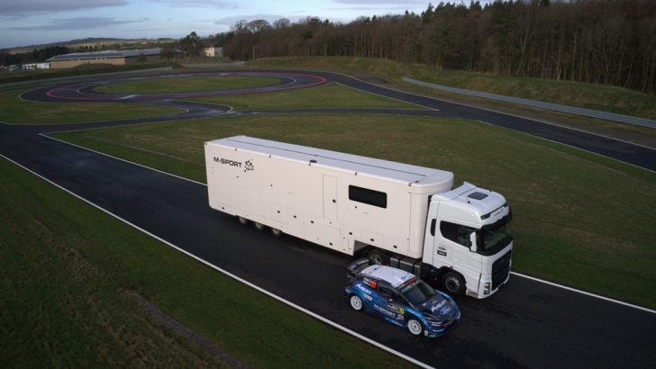 Ford Trucks gücü motorsporlarına destek oluyor