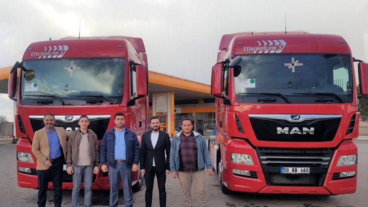 Türkmenler Nakliyat'ın tercihi MAN