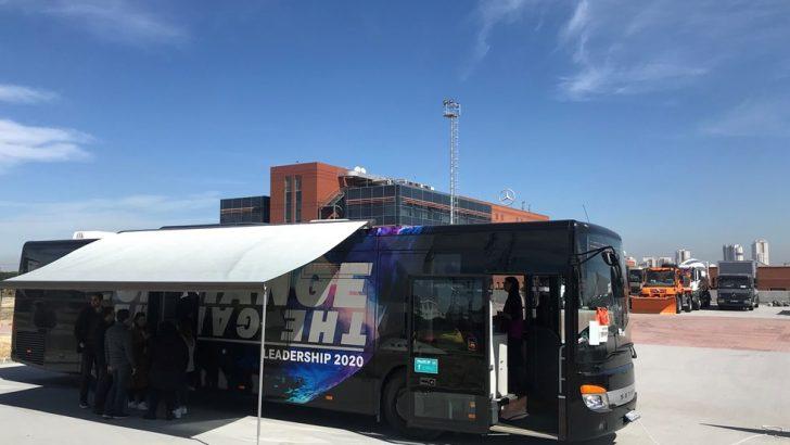 Leadership 2020 Otobüsü Mercedes-Benz Türk'te