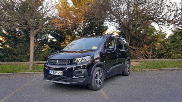 SUV gibi ticari Peugeot Rifter