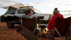 Rivian'dan kampçılar için özel aparat