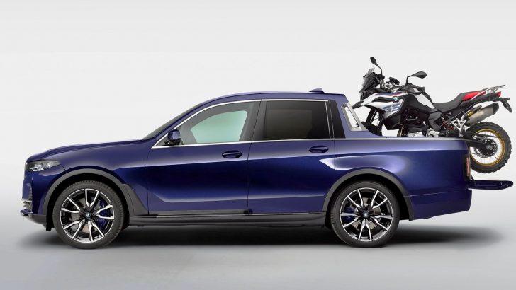 BMW'nin pick-up'ı Göz Dolduruyor