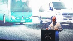 """Mercedes-Benz'in """"Turizm Elçileri"""" Yeni Sprinter ve Tourismo 15 Antalya'da"""