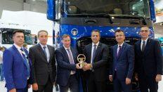 Rusya'da Yılın Kamyonu Ödülü F-MAX'in