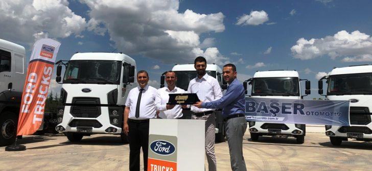 Akkoç Lojistik, Filosunu 10 Adet Ford Trucks İle Genişletti