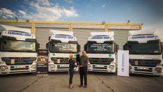 Mercedes Benz'den Truck Store güvencesiyle 50 Adet Çekici Teslimatı