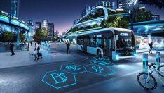 Daimler'ın en yeni elektrikli otobüsleri Busworld 2019'da sergileniyor