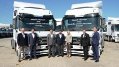TruckStore güvencesiyle Toksuzlar Transport'a 30 adet çekici teslim edildi