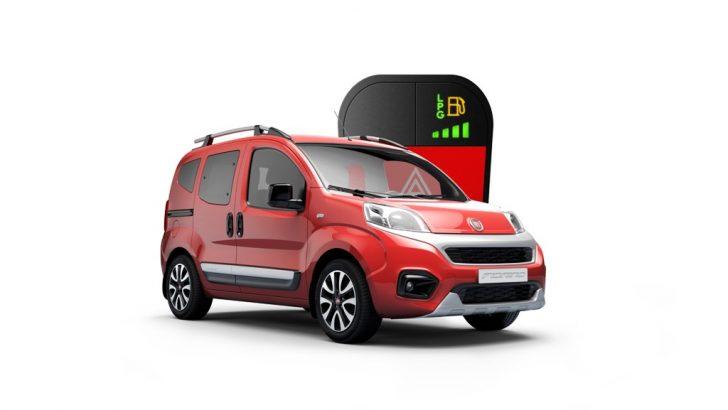 Fiat Fiorino'ya Gaz Takviyesi