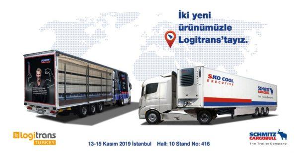 Schmitz Cargobull iki yeni ürünüyle Logitrans 2019 Fuarı'nda