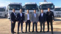 25 adetlik Mecedes-Benz Actros Teslimatı Gerçekleştirdi