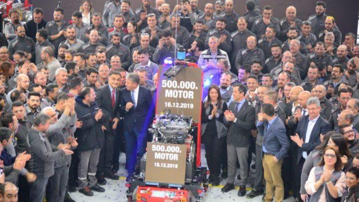 65. YILINDA TÜRKTRAKTÖR'DEN 500 BİNİNCİ YERLİ MOTOR