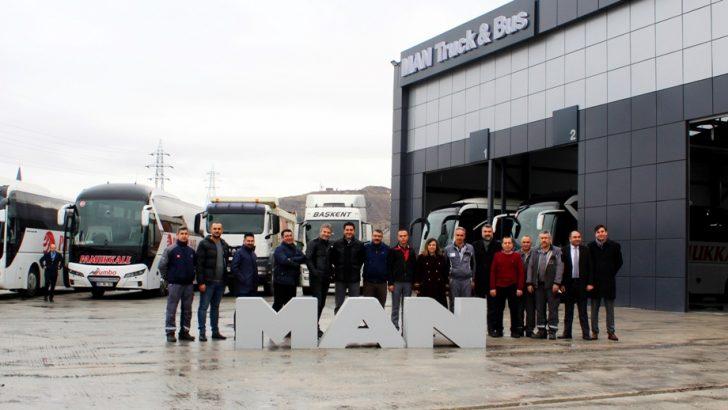 MAN 3'üncü Şubesini, Ankara'da hizmete açtı