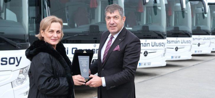 Ali Osman Ulusoy Seyahat'e 2019 yılında toplam 20 adet Mercedes-Benz otobüs teslim edildi.