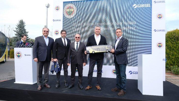 Gürsel Turizm'den Fenerbahçe'ye özel tasarım Mercedes-Benz Tourismo