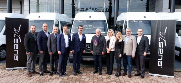Mercedes-Benz Türk, Sena Turizm'e 50 adet Araç Teslim Etti