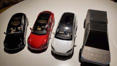 Tesla Cybertruck 3D printer ile imal edildi
