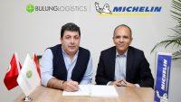 Bulung Lojistik araçları Michelin güvencesinde