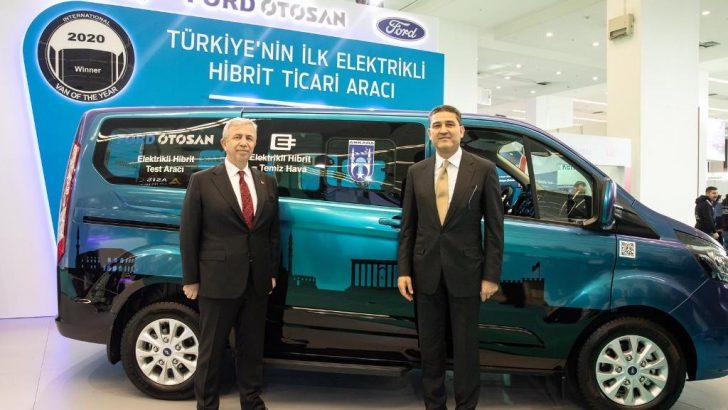 Türkiye'nin ilk ve tek yerli şarj edilebilir, hibrit, elektrikli ticari aracı Ankara'da yollara çıkacak
