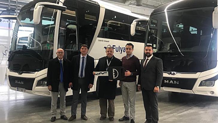 MAN Lion's Coach firmaların gözdesi: Fulya Turizm'e 2, Keşan Birlik 1 adet yeni Lion's Coach aldı