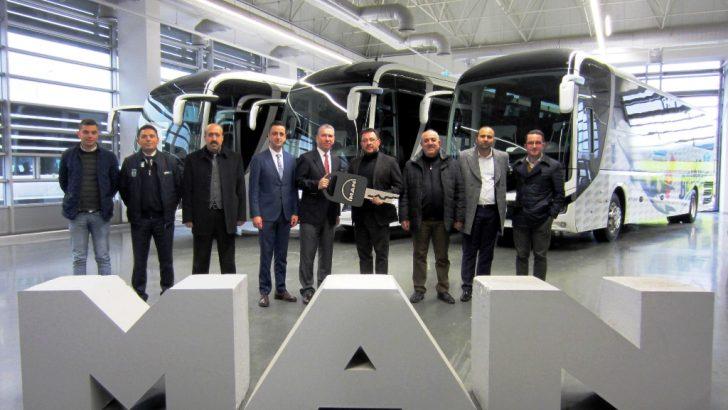 MAN'dan Ankara'da BelKo Air'e İstanbul'da Altur'a Lion's Coach teslimatları