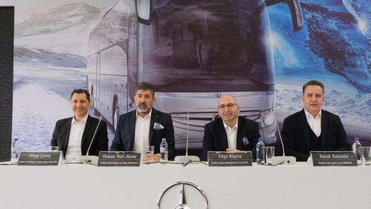 Şehirler arası otobüs pazarının tercihi yine Mercedes-Benz