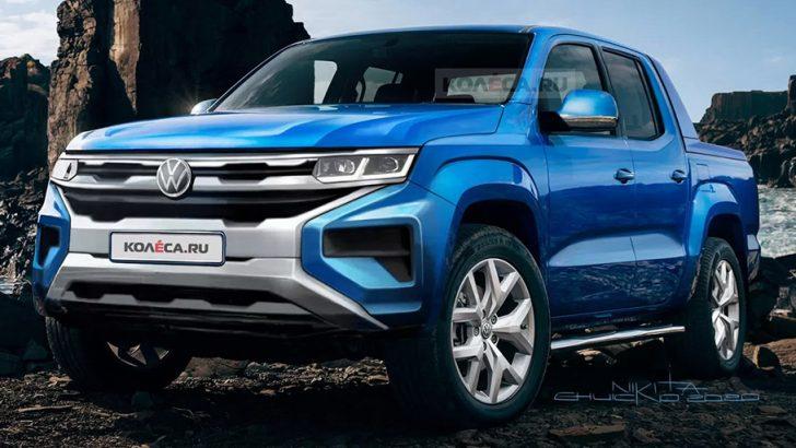 Yeni Volkswagen Amarok'un tasarımı böyle mi olmalı?