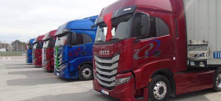 Panpet Taşımacılık, filosunu IVECO S-WAY çekiciler ile güçlendirdi