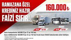 Anadolu Isuzu'dan Ramazan Ayına Özel Sıfır Faiz Kampanyası