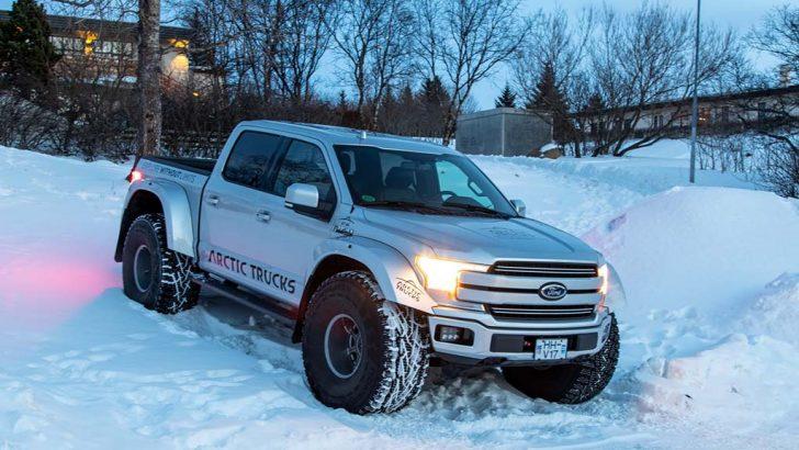 Arctic, Trucks Ford F-150'yi baştan yarattı
