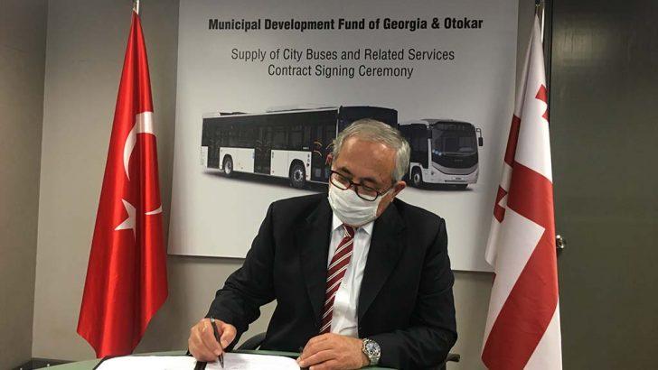 Gürcistan'dan Otokar'a 175 adetlik otobüs siparişi