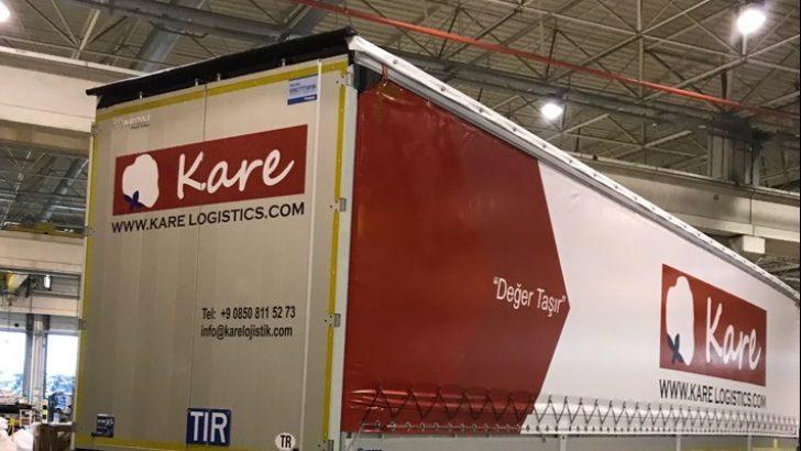 Kare Lojistik ilk defa Krone'yi tercih etti