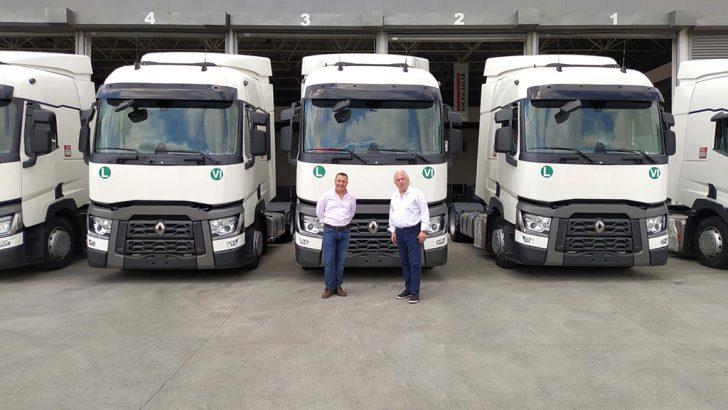 Kare Karayolu'nun araç parkının %90'ı Renault Trucks