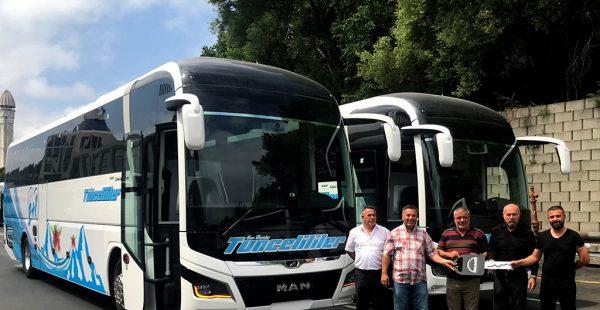 Can Dersim Tunceliler Turizm, MAN Lion's Coach otobüsleri ile filosunu güçlendirdi
