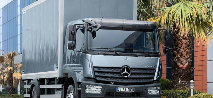 Mercedes-Benz kamyonlarında 500.000 TL'ye kadar kredi imkânı devam ediyor