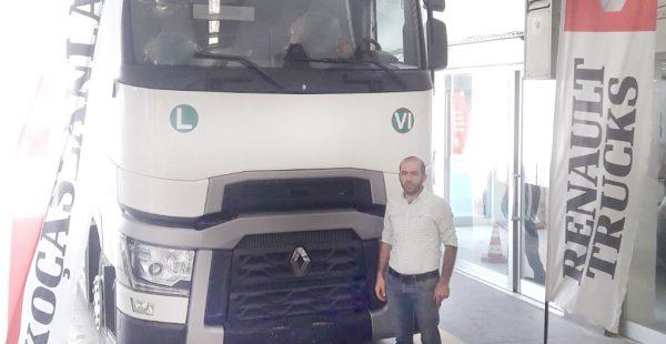 Şinasi Çiftçi Taşımacılık'ın tercihi Renault Trucks T 480
